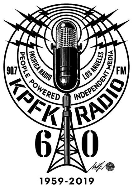 KPFKs 60th Anniv Logo