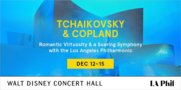 Tchaikovsky and Copland Dec 12-15 2019 WDCH