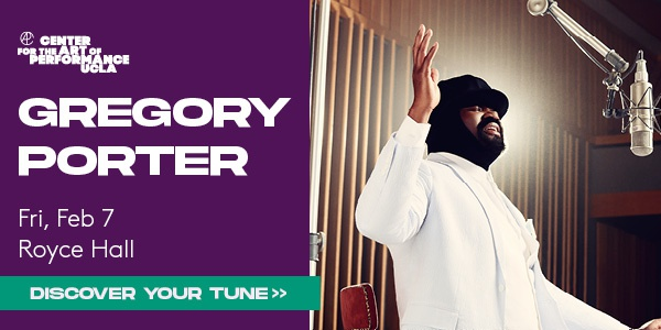 Gregory Porter Live at Royce Hall