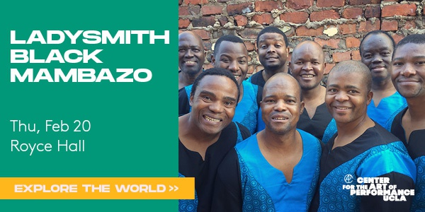 Ladysmith Black Mambazo Live at Royce Hall