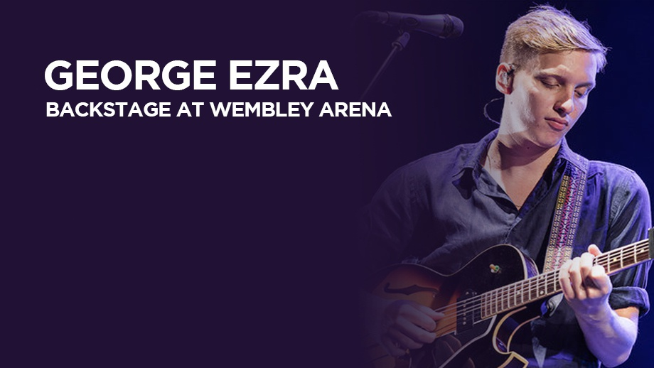 George Ezra - Backstage at Wembley