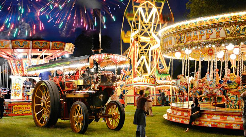 ASTLE PARK TRACTION ENGINE RALLY 2018