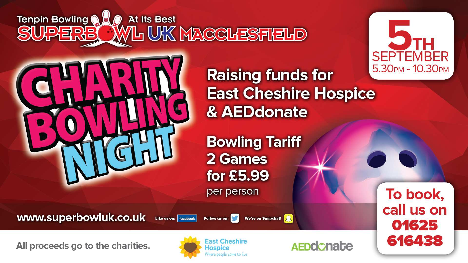 SUPERBOWL UK MACCLESFIELD CHARITY CHALLENGE