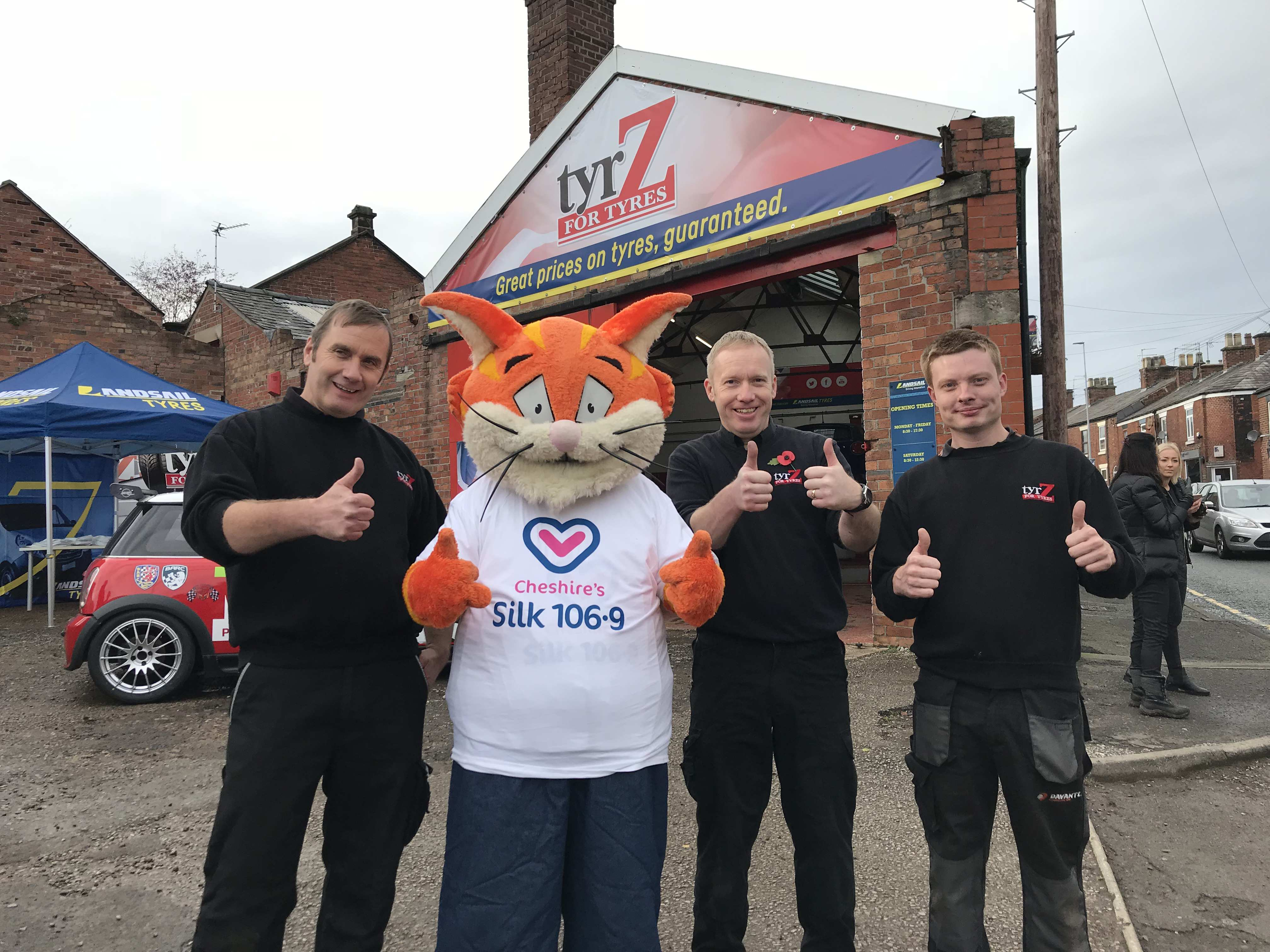 TYRZ in Congleton grand opening day