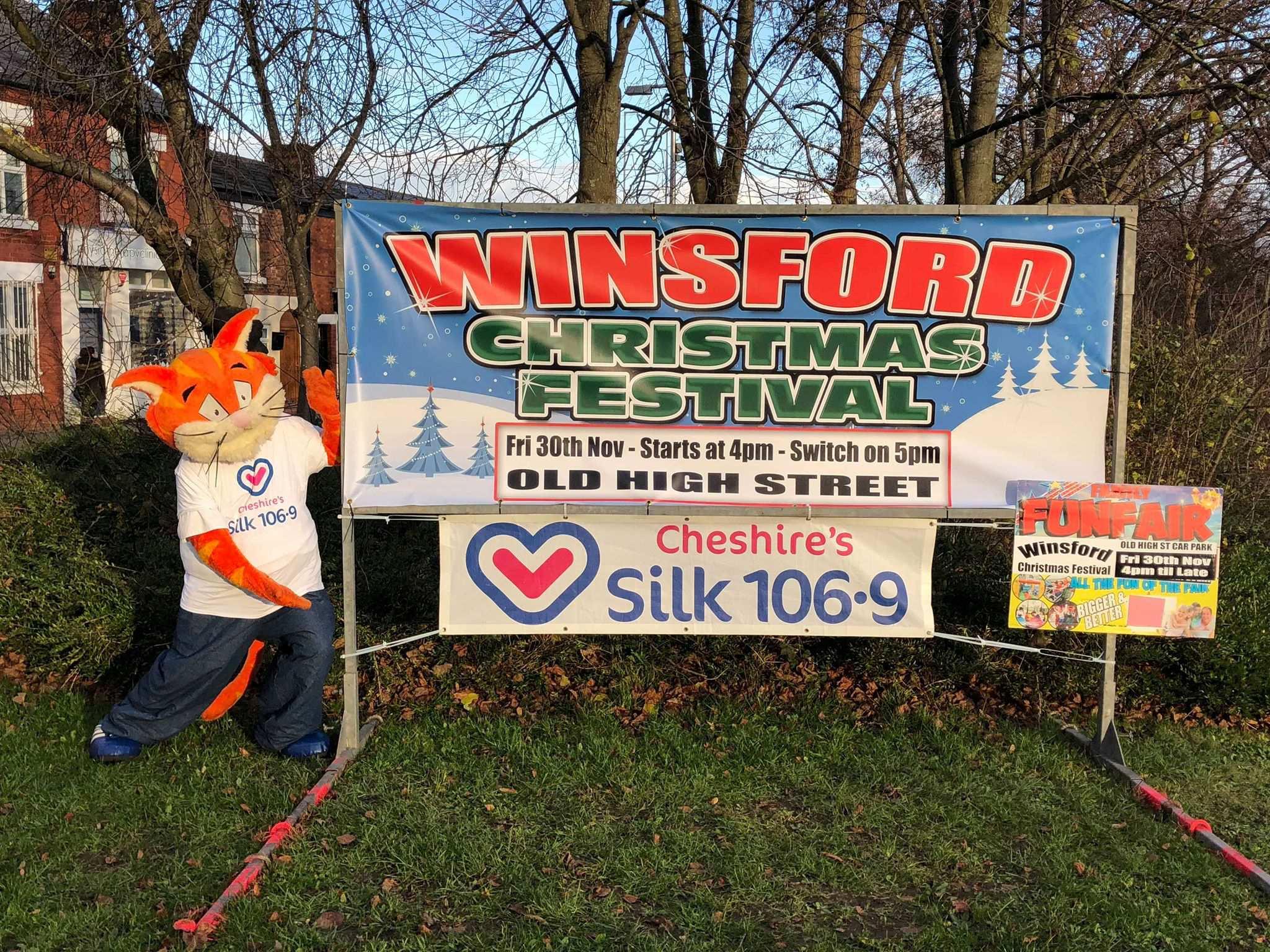 Winsford Christmas lights 2018