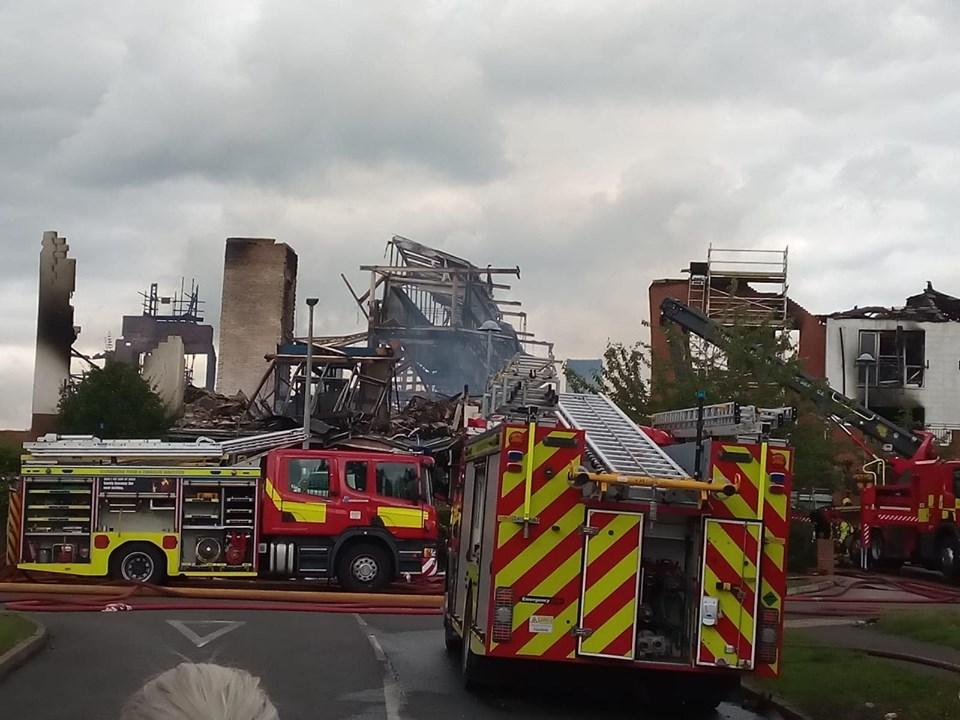 Beechmere retirement home Crewe fire