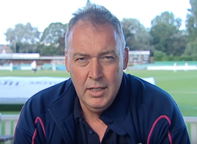 Angus Fraser was part of the group who gave James Vince his England debut