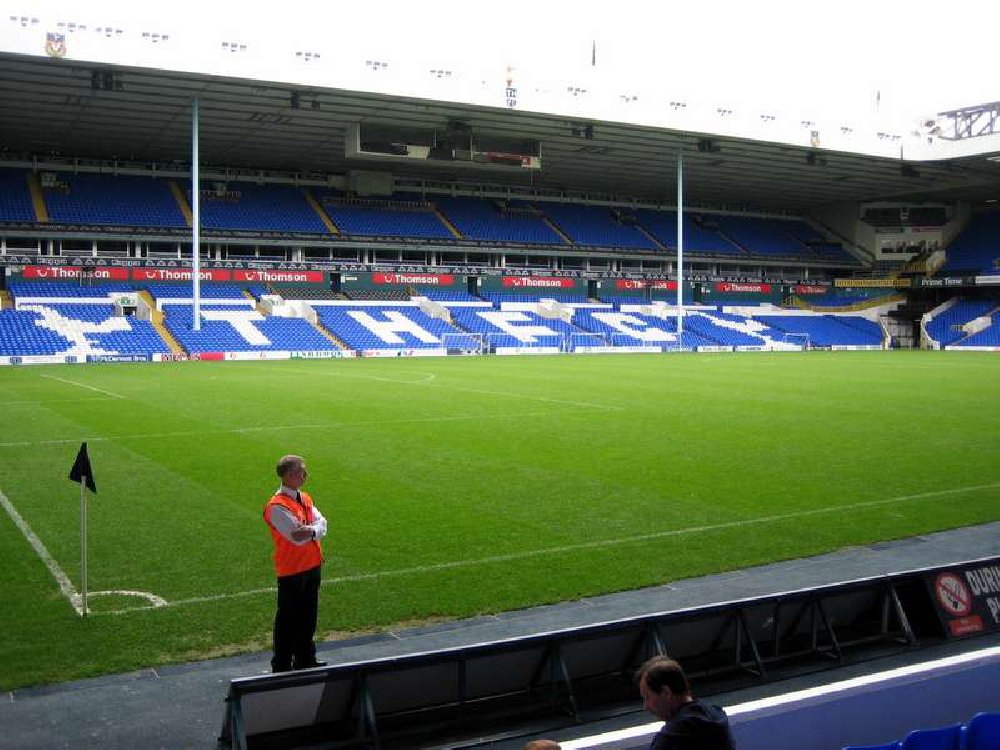 White Hart Lane before thoughts of a new stadium had even entered Daniel Levy's head!