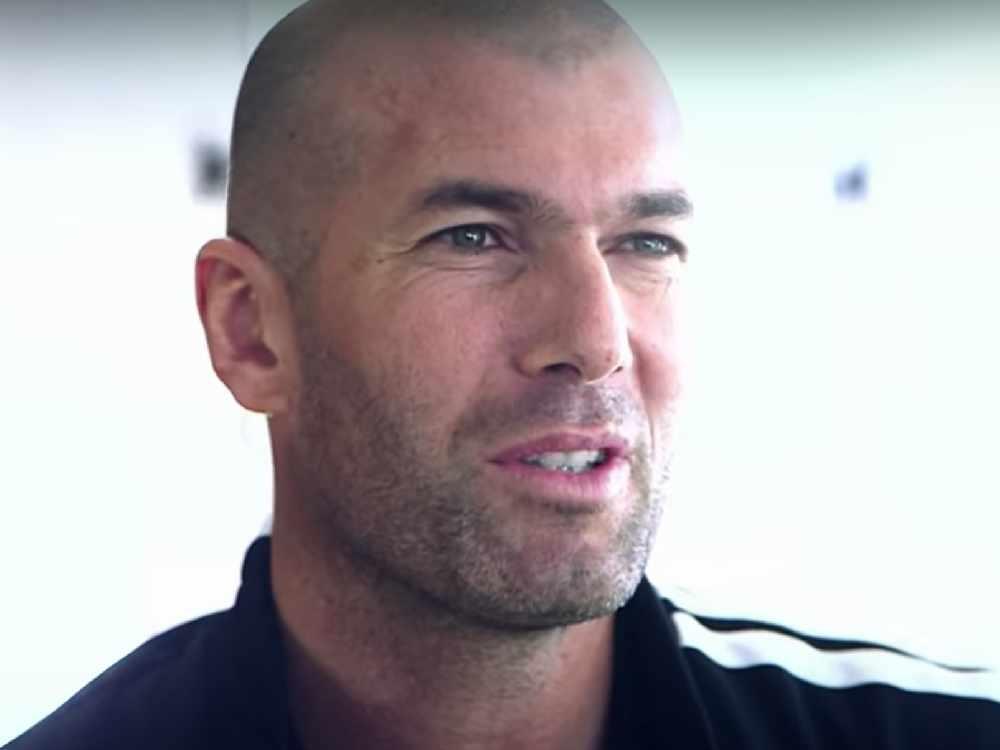 Zinedine Zidane CROPPED