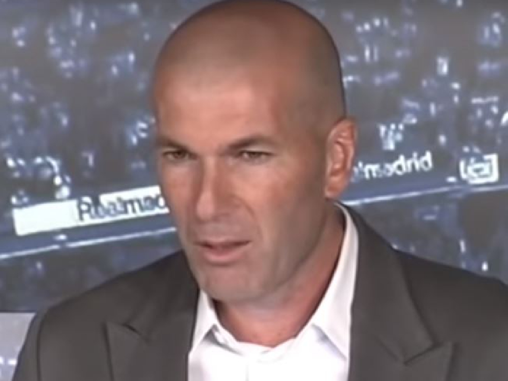 Zinedine Zidane confirmed as Real Madrid's new manager