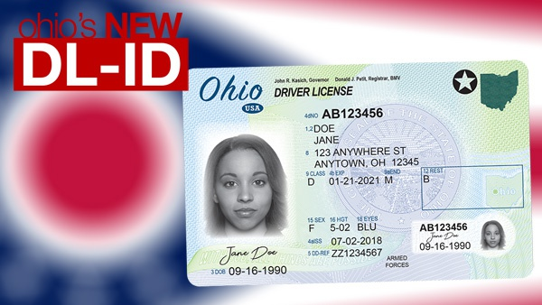 ohioans' new drivers licenses will come in the mail - eagle country 99.3