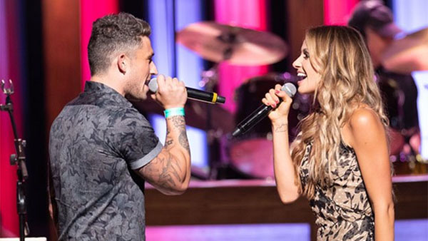 Carly Pearce And Michael Ray Duet On Grand Ole Opry Eagle