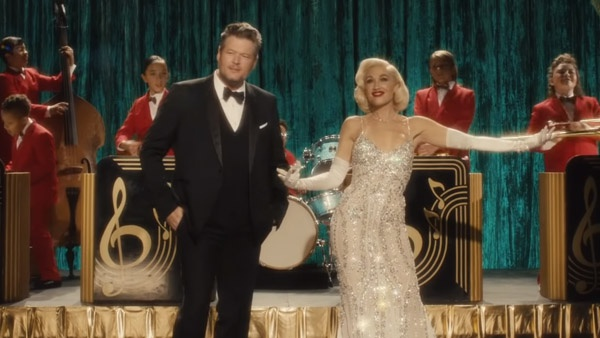 Blake Shelton Joins Gwen Stefani for New Christmas Music Video