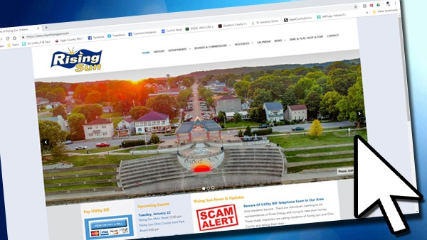 City Of Rising Sun Debuts New Website - Eagle Country 99 3