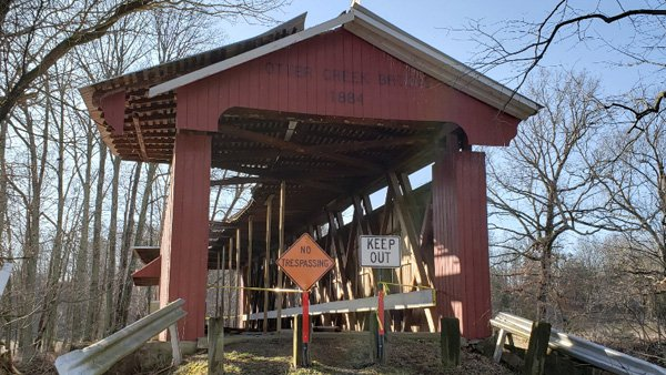 Repairs Planned For Damaged Covered Bridge Eagle Country 993