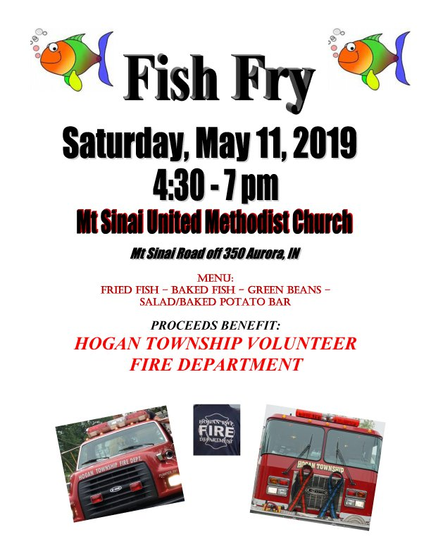 Mt  Sinai United Methodist Church Fish Fry - Eagle Country 99 3