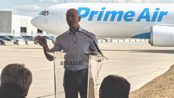 Amazon breaks ground on $1.5 billion Prime Air hub at CVG