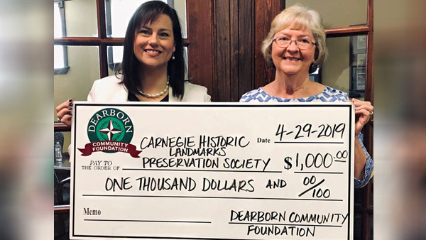 Dearborn Community Foundation Impact Grant Supports Carnegie Hall