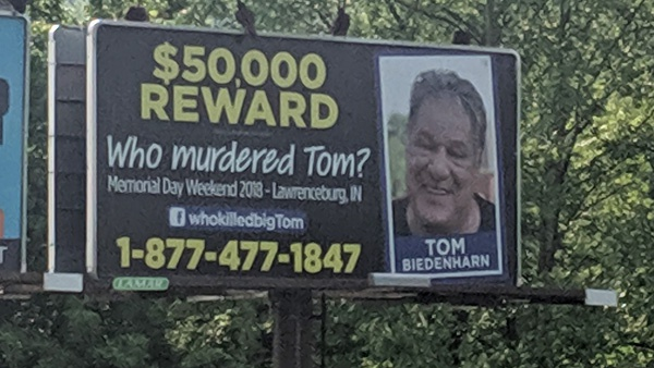 One Year Later, Tom Biedenharn's Murder Remains Unsolved