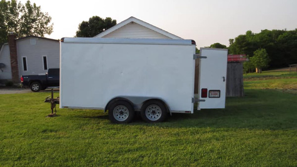 Stolen Trailer Located 17 Years Later - Eagle Country 99 3