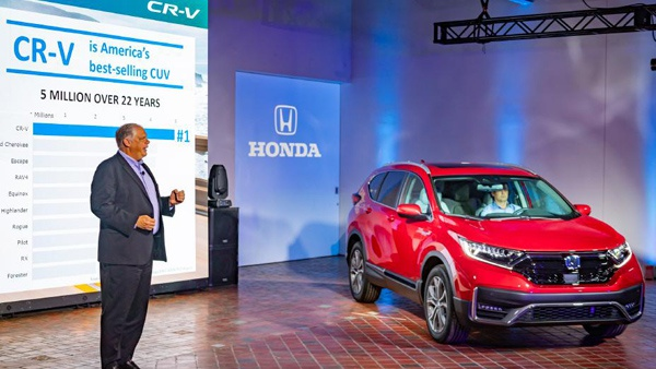 See the 2020 Honda CR-V Hybrid: New efficient crossover SUV revealed