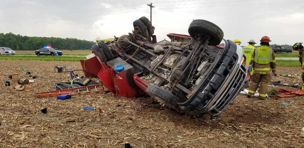 Single Vehicle Accident On HWY 421 Sends Two To The Hospital