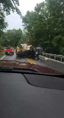 Wet Road May Have Cause Milton Hill Accident - 95 3 WIKI