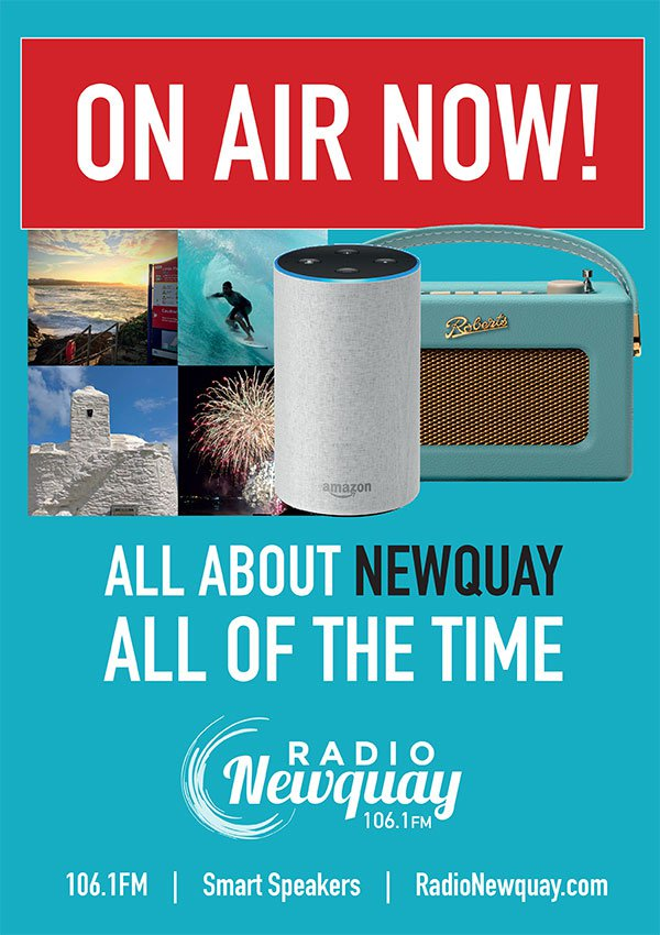 stick up a poster win free advertising radio newquay all about