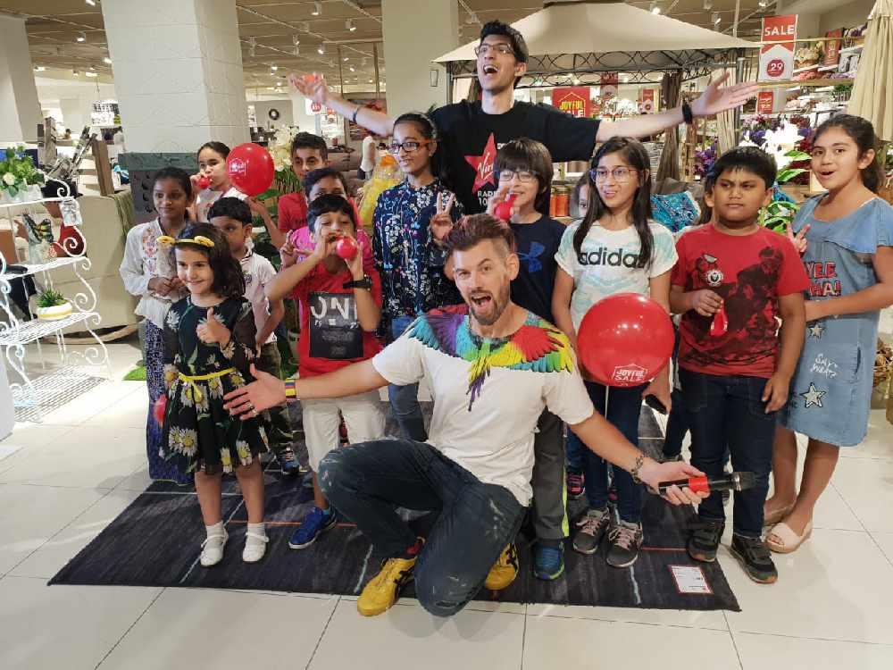Check out the V-Team Photo Gallery - Virgin Radio Dubai