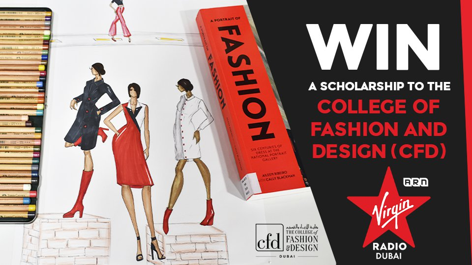 Win a 2 year scholarship to the College of Fashion and Design, also known as CFD