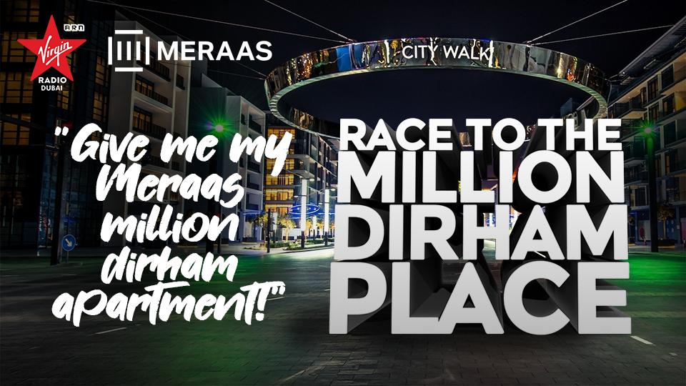 Race To The Million Dirham Place