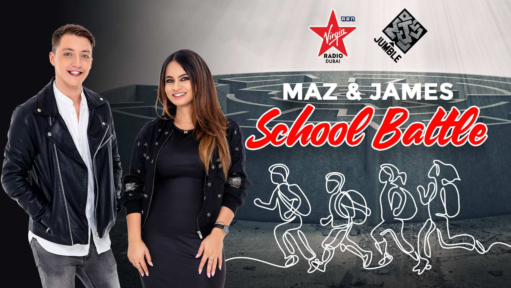 Maz & James School Battle