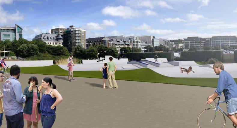 Proposed design for Les Jardins de la Mer