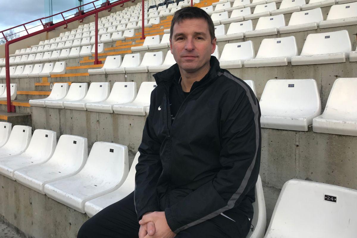 Manager of Jersey Bulls, Gary Freeman