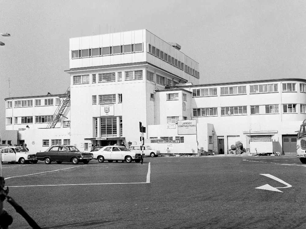 A last look inside the original Jersey Airport terminal building