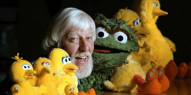 Caroll Spinney The Puppeteer Behind Big Bird And Oscar The