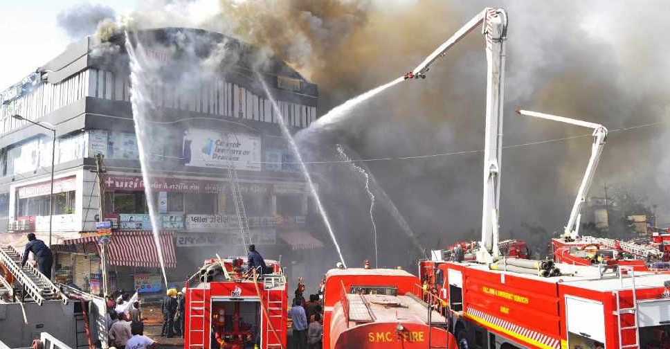 2 Indian fire officials suspended as coaching centre toll