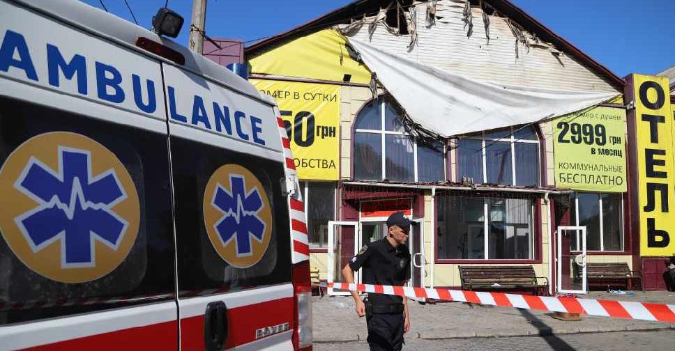 Eight die in Ukraine hotel fire - Dubai Eye 103 8 - News