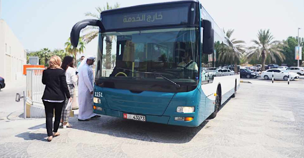 abu dhabi bus supplied