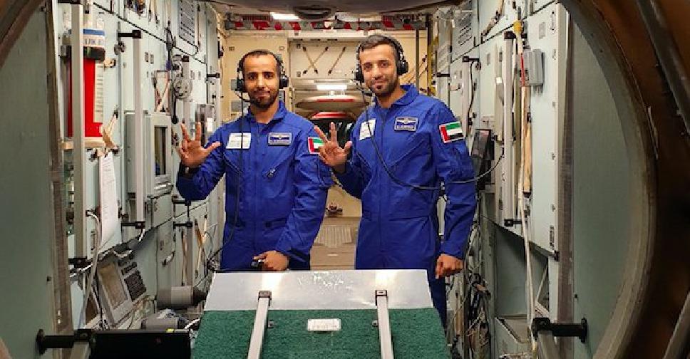 UAE ASTRONAUTS 1