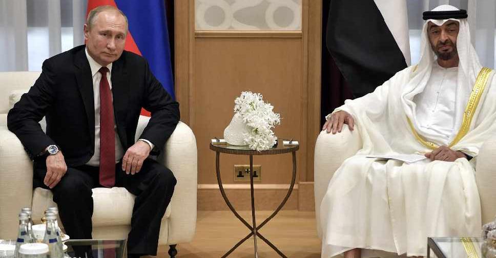 PUTIN VISIT 5 ALEXEY NIKOLSKY / SPUTNIK / AFP