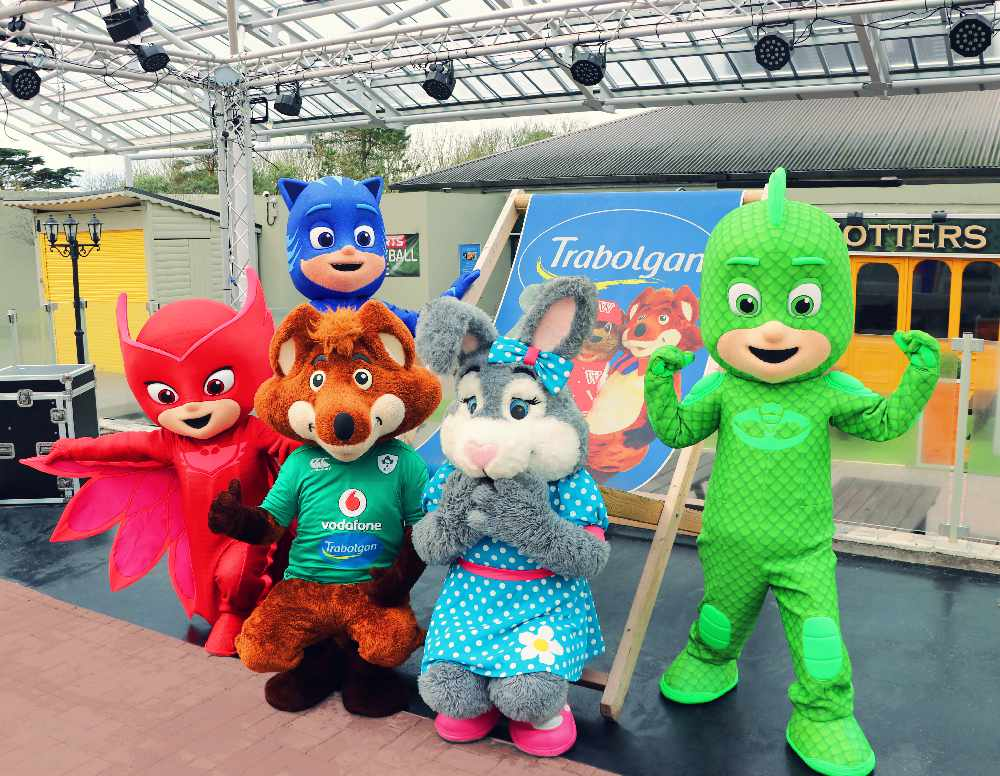PJ Masks Arrive at Trabolgan