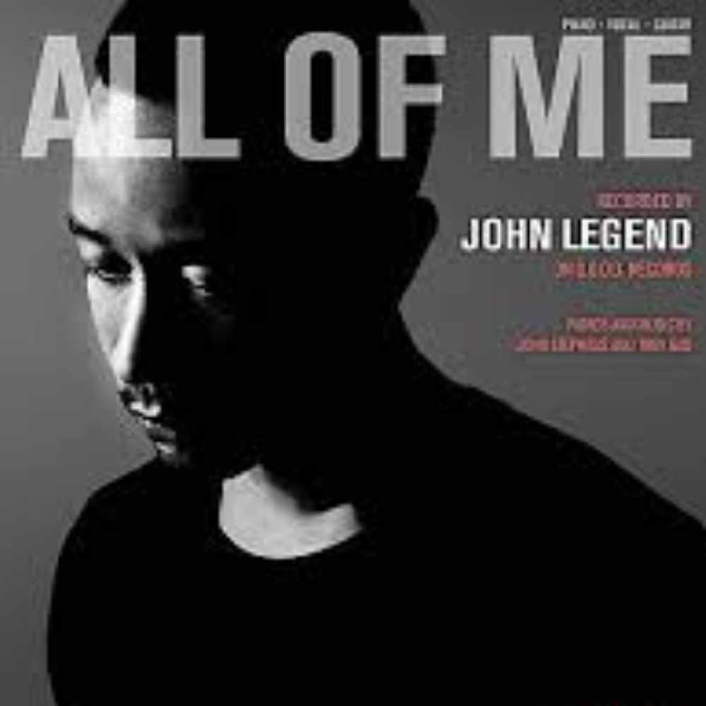 All Of Me by John Legend on Sunshine Soul
