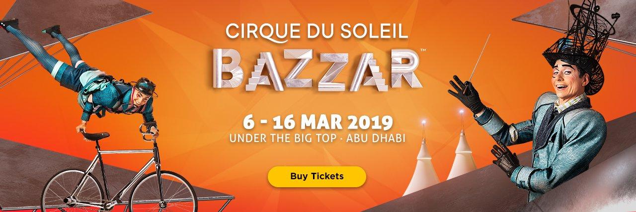Cirque Du Soleil Bazaar