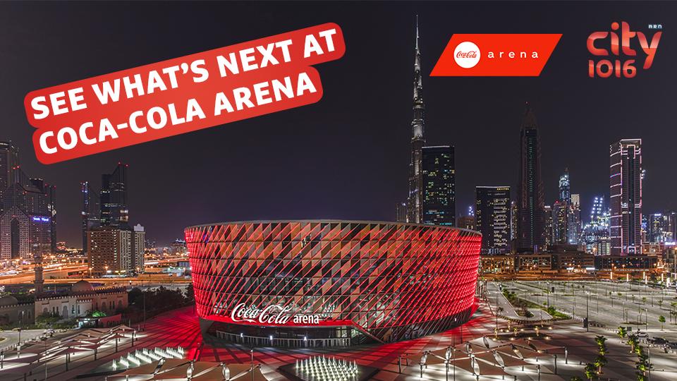 Coca-Cola Arena - Upcoming Events
