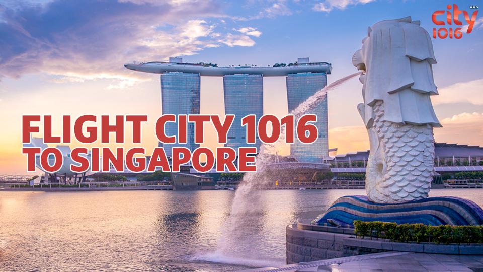 Flight City1016 to Singapore