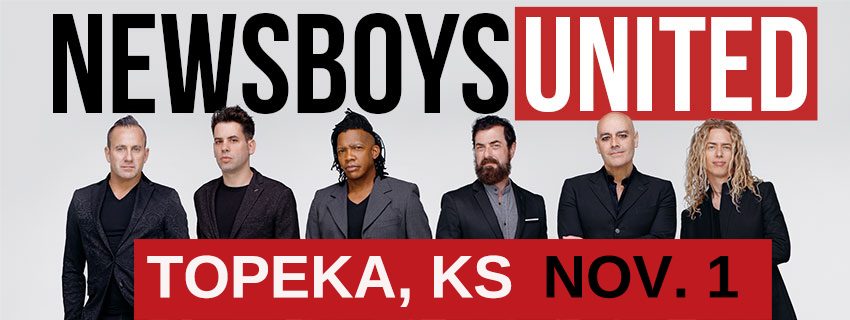 Newsboys in Topeka