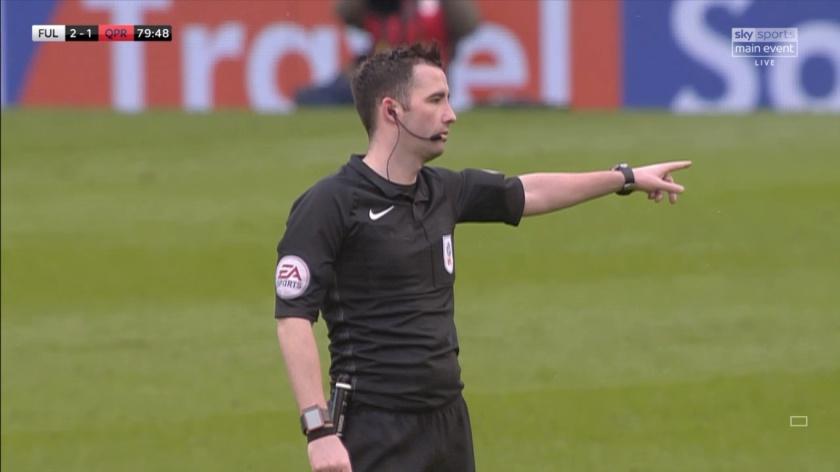 Chris takes charge of Premier League clash