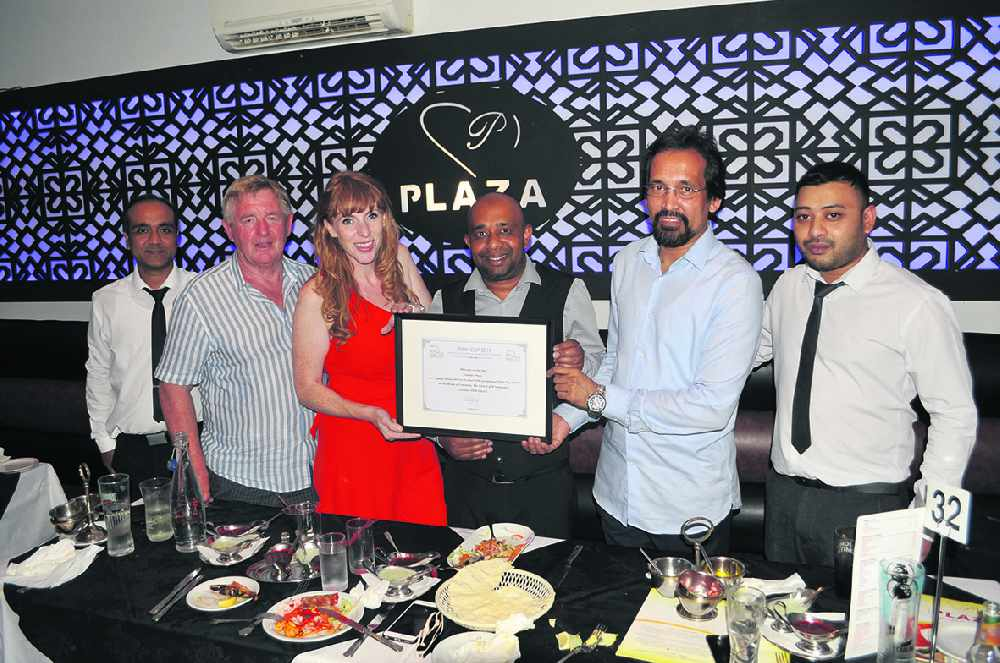 Plaza curries favour with Tiffin Cup judges