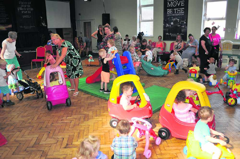 'Oldest' mums and tots group celebrates 30th anniversary